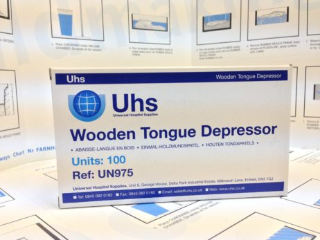 Tongue Depressors - Wooden mixing sticks – supplied in Boxes of 100 -