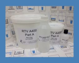 RTV A400 A/B – Translucent two part Silicone rubber