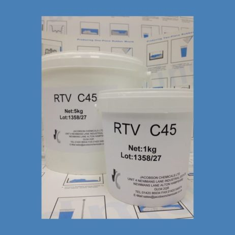 RTV C45 base with catalyst 45b