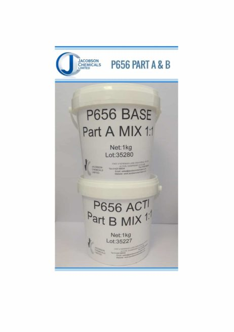 Prosthetic Silicones P656 A/B (50:50 MIX)