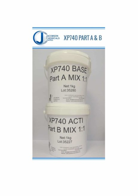 Product Prosthetic Silicones XP740 A / B STANDARD CURE SYSTEM